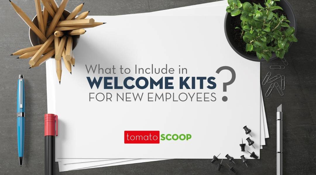 what to include in a welcome kit for new employees