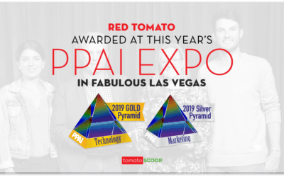 Red Tomato Awarded at This Year's PPAI Expo in Fabulous Las Vegas